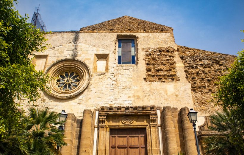 Chiesa del Carmine e Porta San Salvatore