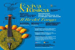 Concerto dell'Orchestra Sinfonica Siciliana il 18 settembre