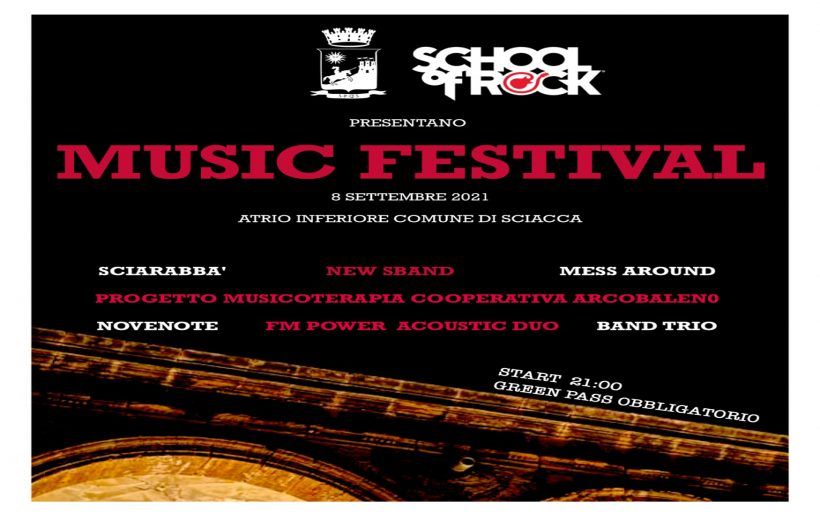 Music Festival School of Rock Sciacca